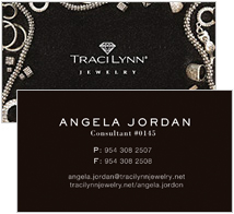 Business cards traci lynn jewelry black product business cards colourmoves